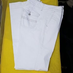 Tommy Hilfiger White Trouser Pants